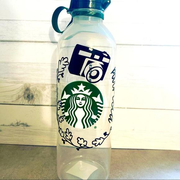 New custom Starbucks bottle water.